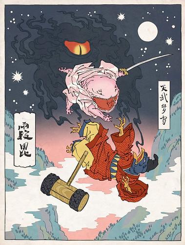 more Ukiyo-e Heroes