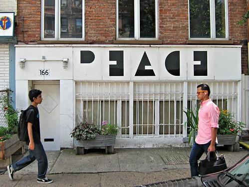 Negative space Peace