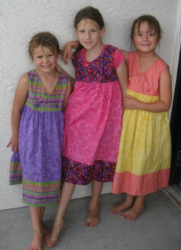dresses three