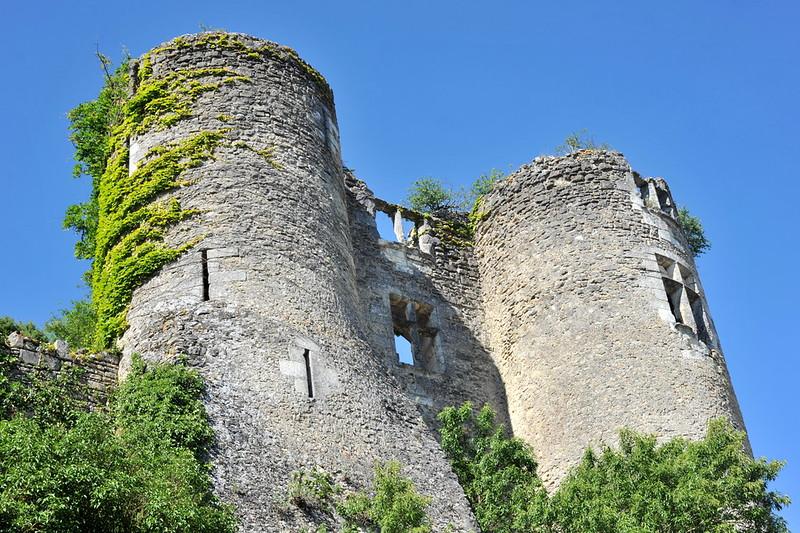 Tours XIIe s. du Château de Montrésor - Indre-et-Loire