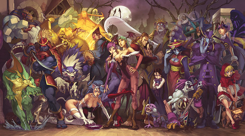Darkstalkers: Resurrection Replay and Tournament Modes Detailed