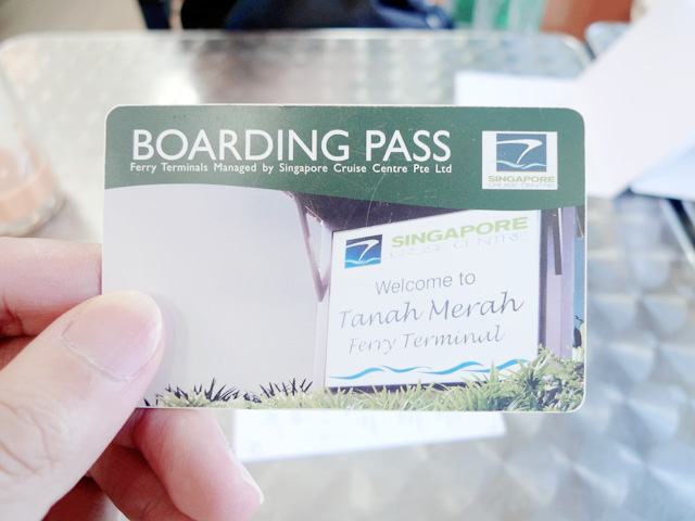 ferry boarding pass