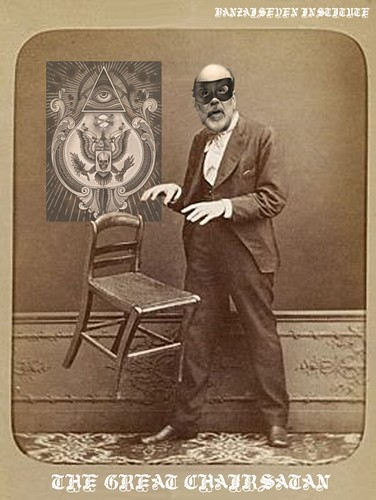 THE GREAT CHAIRSATAN by Colonel Flick