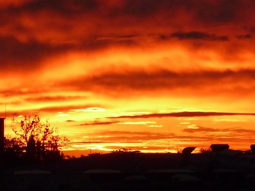 [フリー画像素材] 自然風景, 空, 雲, 朝焼け・夕焼け, 風景 - オーストリア ID:201207232000