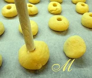 Biscotti mandorle e nutella 2