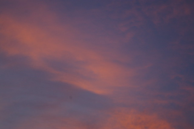 Wispy Moonless Sunrise