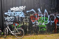 Grafitti Kromme Palmstraat Amsterdam