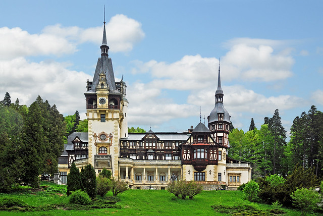 Romania-1727 - Peles Castle