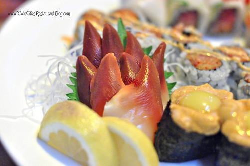 Surf Clam Sashimi at Osaka Sushi & Hibachi ~ Roseville, MN