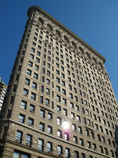 Image of Flatiron Building near City of Hoboken. nyc newyorkcity newyork unitedstates estadosunidos nuevayork