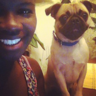 Me and Sam @ninacolada9 #pug #pugsofinstagram