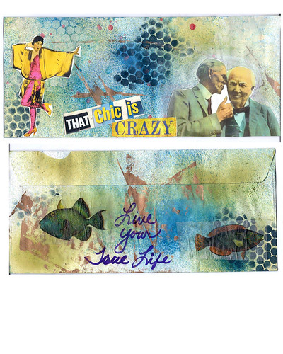 Mail art2 by Lynne Larkin
