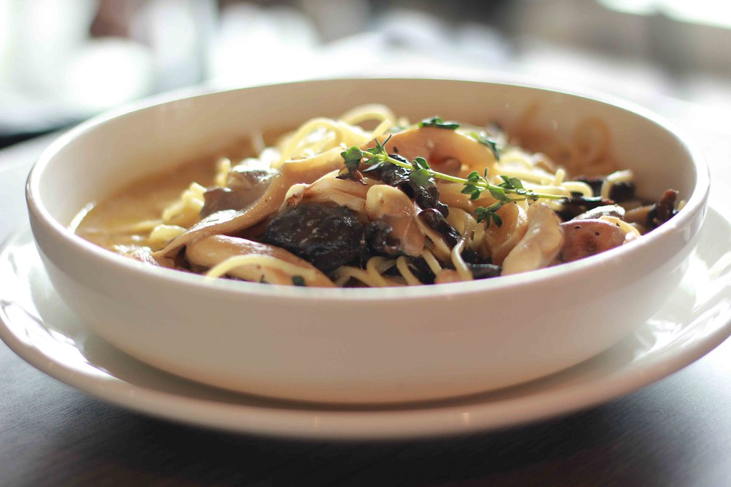 Ben's Pasta Mushroom Mascarpone