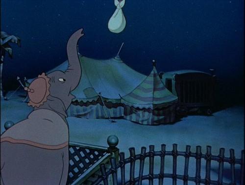 Dumbo looking