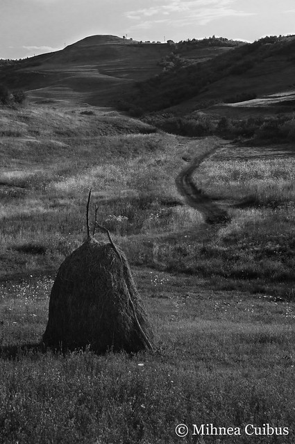 Haystack and hills