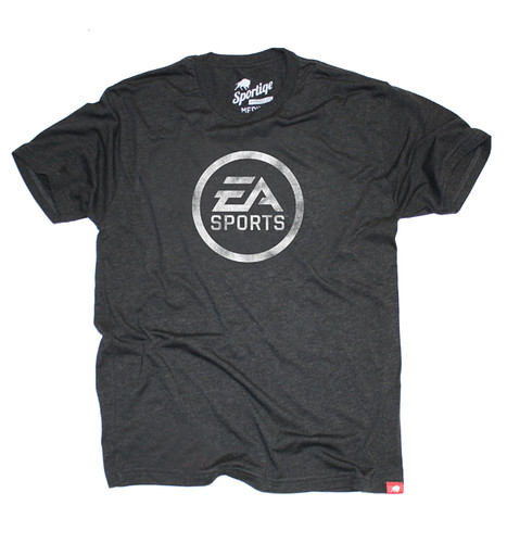 EA SPORTS Logo T-Shirt By Sportiqe