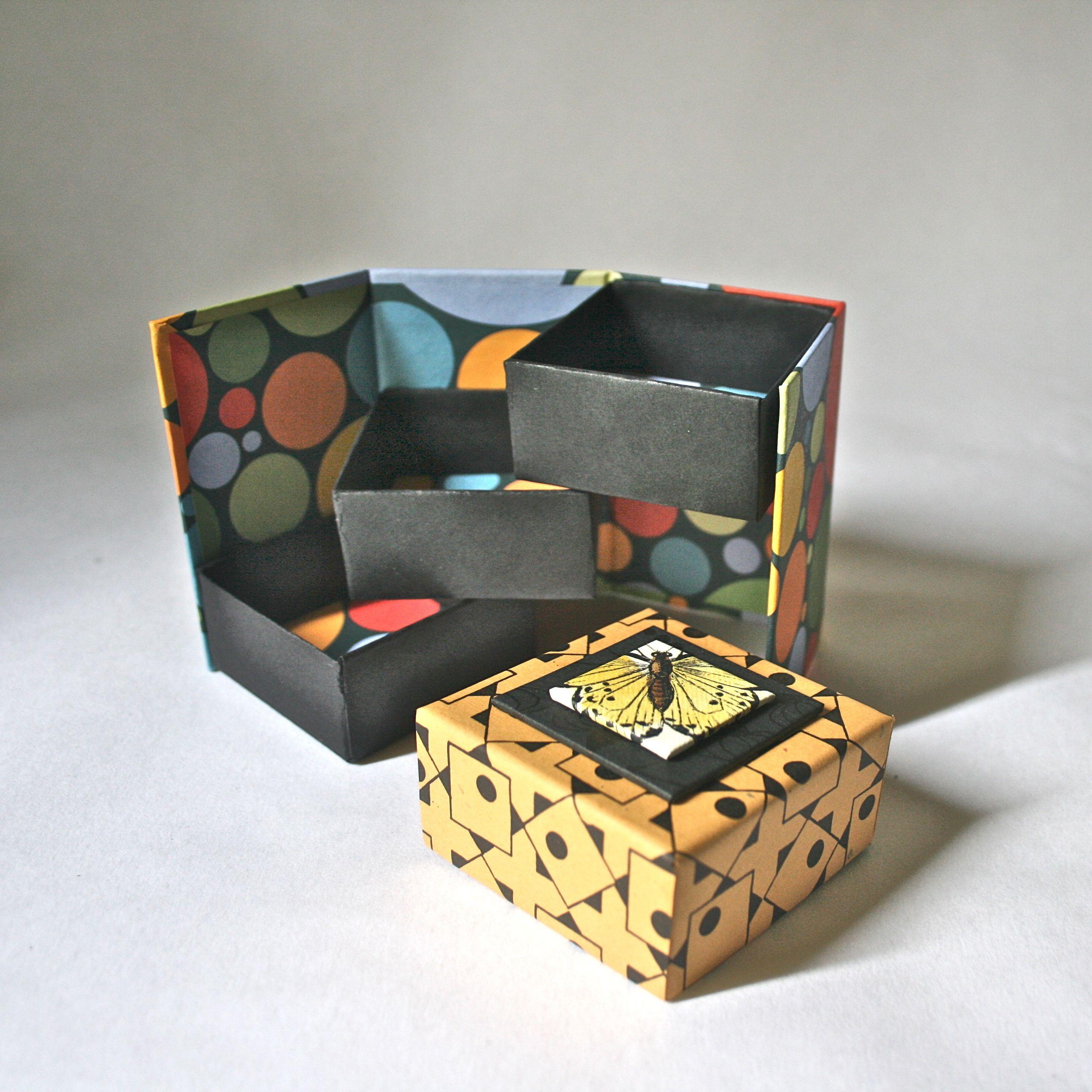 1000 images about handmade paper boxes on pinterest. Black Bedroom Furniture Sets. Home Design Ideas