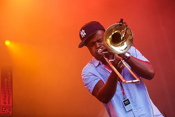 Hypnotic Brass Ensemble @ Nuits de Fourvière 2012
