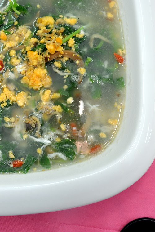 Spinach in Broth