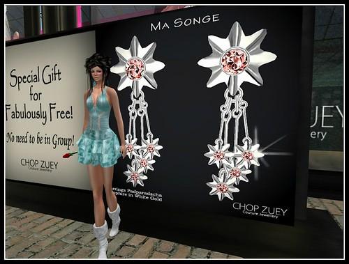 Chop Zuey - Pendientes Ma Songe by Cherokeeh Asteria