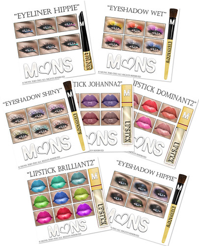 MONS Cosmetics 2012/13 Fall&Winter pre-releases (part2) by Ekilem Melodie - MONS