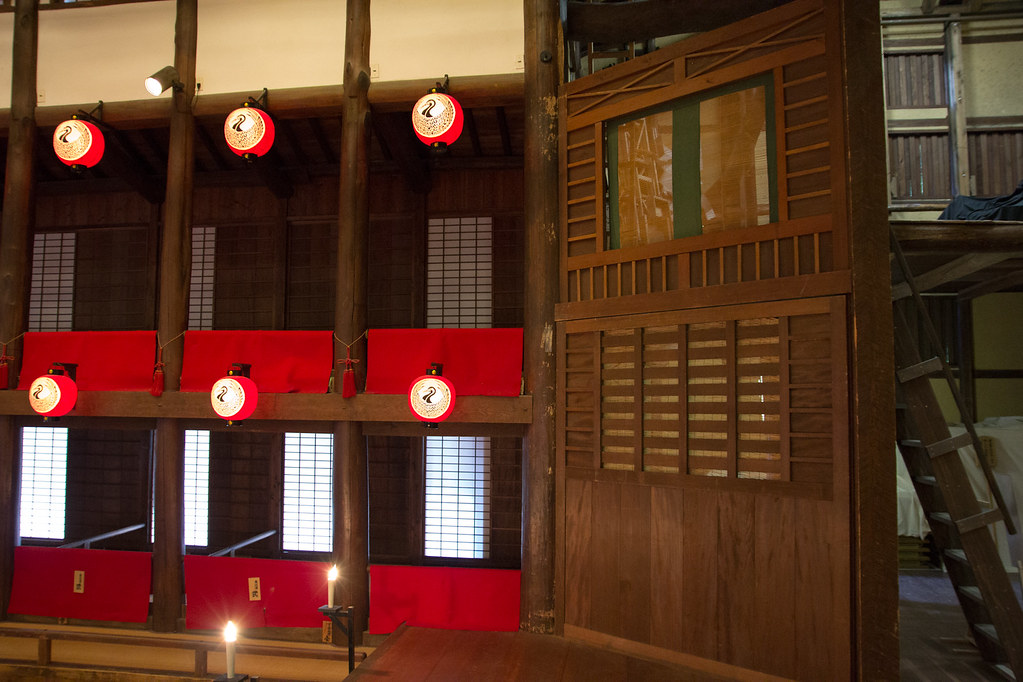 Konpira Grand Theatre Kanamaruza