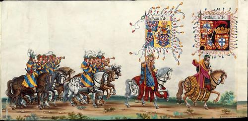 014-Triunfo del Emperador Maximiliano I…1700-Copyright Biblioteca Nacional de España