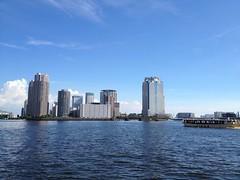 隅田川 中島公園より
