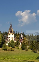 Pelesh Castle in Sinaia, Romania