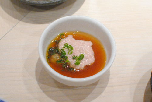 liver with ponzu