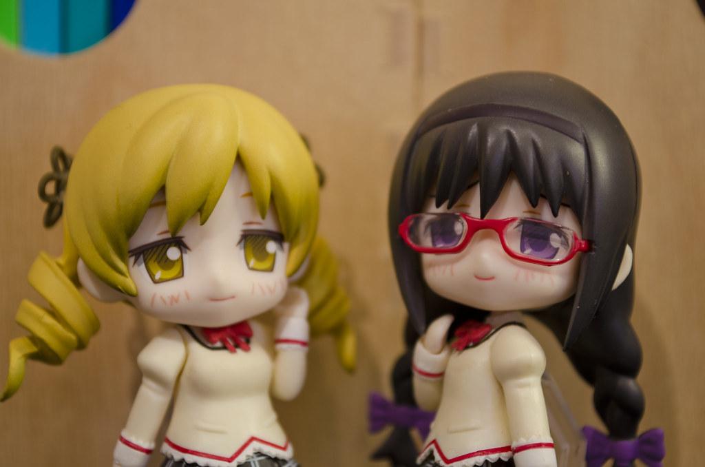 Nendoroid Petite Mami and Homura