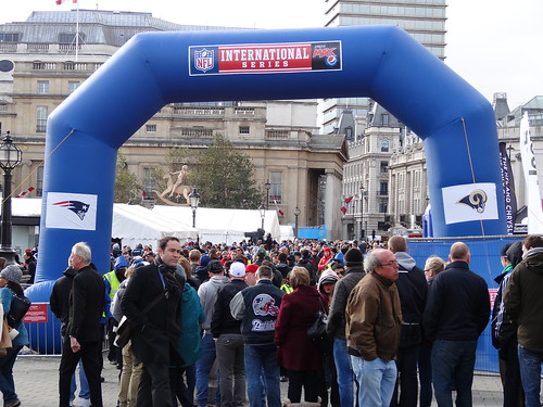 NFL Fan Day Trafalgar Square