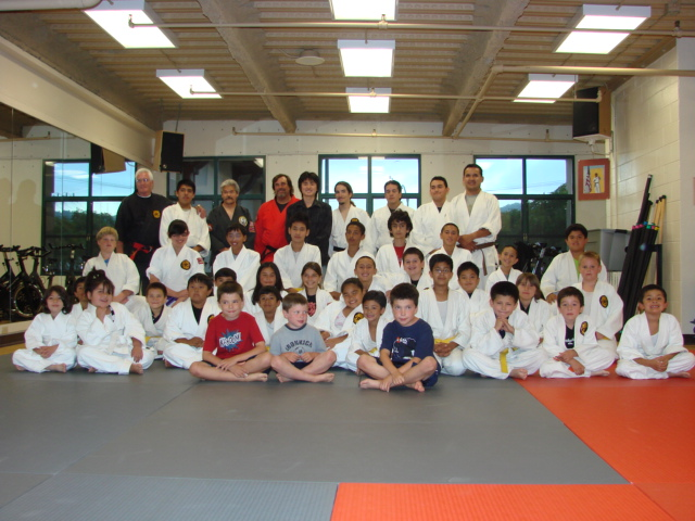 2009-8-6「Inspiring Youth Students at Monterey Karate School」