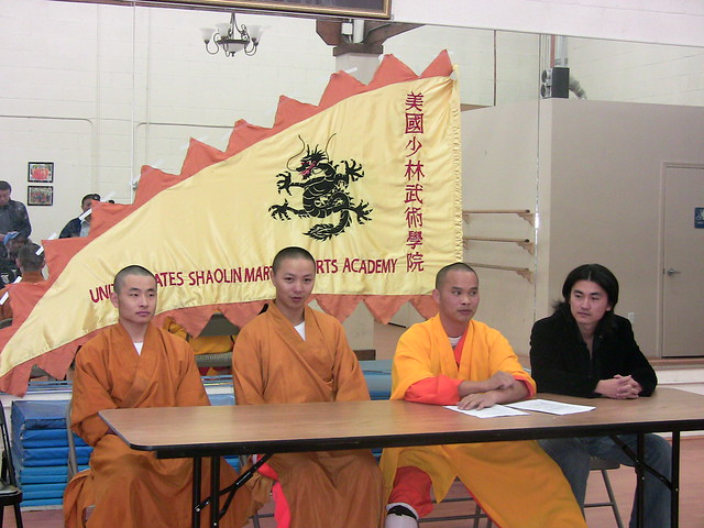 2009-1-24「Press Conference at the California Shaolin Martial Arts Academy」