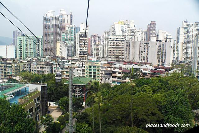 guai cable car view