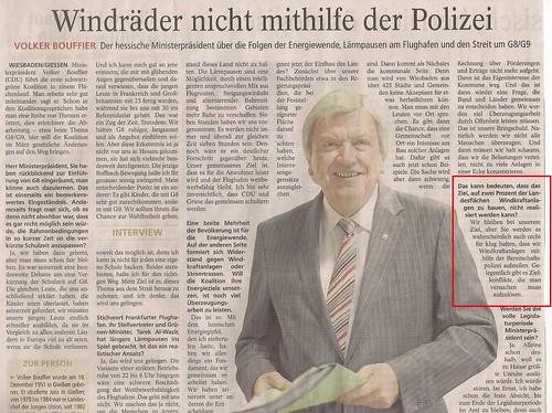 2014 03 06 Bouffier Windräder mit Polizei schützen