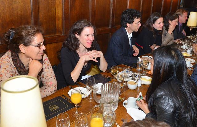 Delegate dinner, Wadham College - skollwf 2014