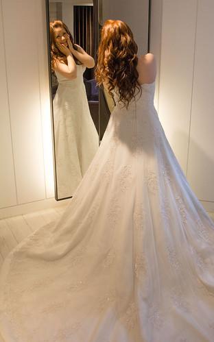 豐腴女孩也能挑到漂亮婚紗17