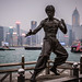 Statue of Bruce Lee at Victoria Harbor - Avenue of the Stars