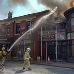 Another fire at Sandos in Preston - 5