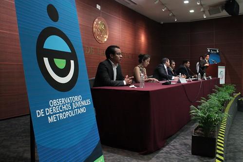 El día 20 de mayo del 2016 se llevó a cabo en el Senado de la República el Observatorio de Derechos Juveniles Metropolitano.
