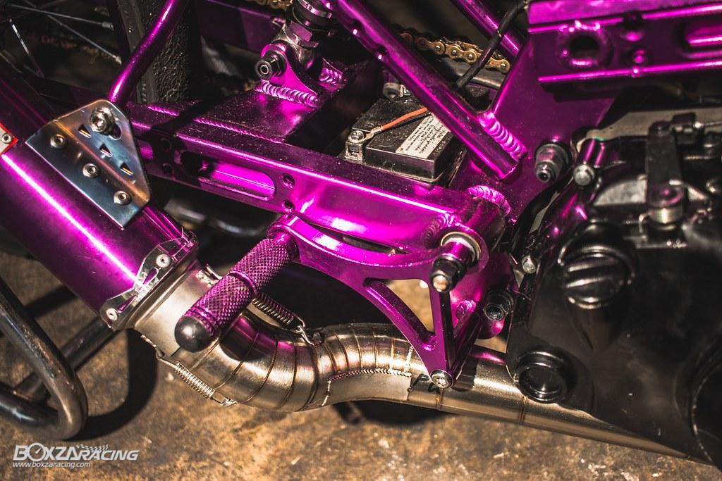 Wave Drag độ màu tím khủng khiếp với Piston 78mm (Thái) - 18