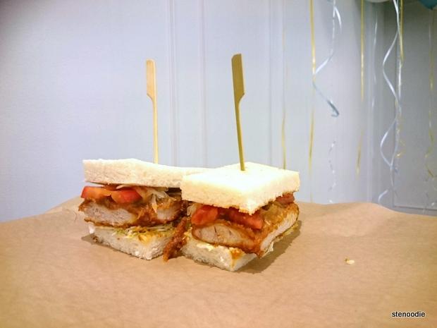 Tonkatsu Pork Sandwich