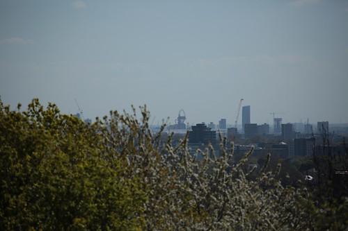 Londra da Parliament Hill
