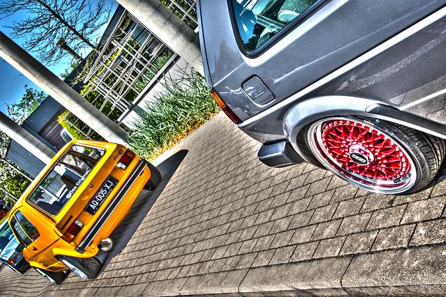 VW Golf HDR