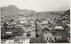 Vista parcial da cidade do Mindelo - Ilha de São Vicente - Cabo Verde