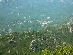 Chisa depuis le sentier Cuccuracciu - Bocca di Cateri