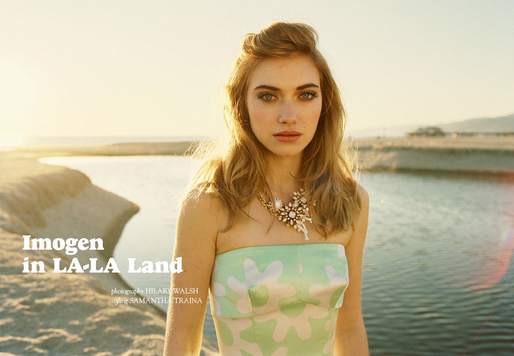 imogen poots for tank magazine