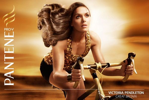 Pantene Olympic campaign: Victoria Pendleton