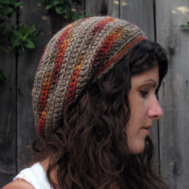 Crochet Slouchy Hat Patterns For Beginners Free : 6891234608_5d1ec3af66_z.jpg